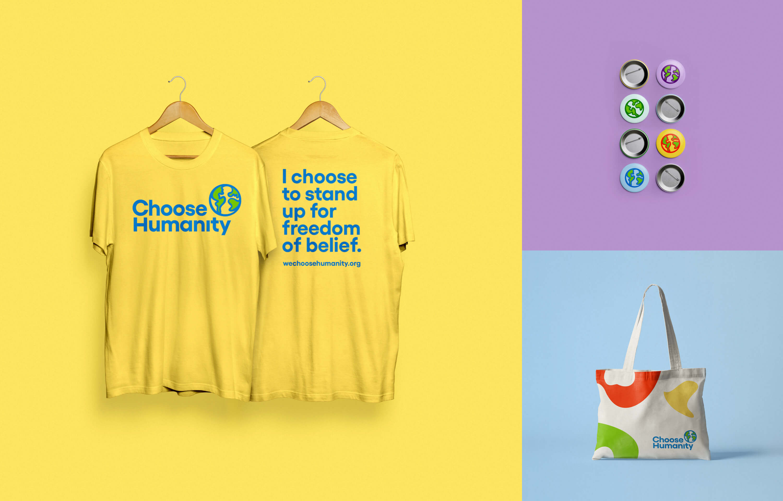 Choose Humanity Merchandise